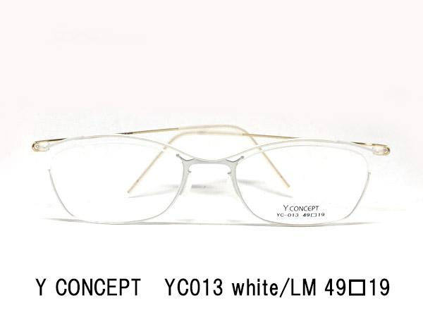 Y-CONCEPT YC013-white LM-49□19